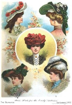 Hats of the Edwardian Era
