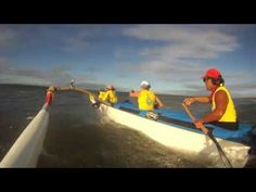 A taste of the INSANE conditions from this past weekends Na Wahine outrigger canoe race. Mad props to these women!