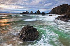 Time-lapse del mar.