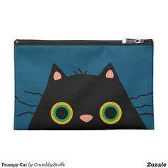 Frumpy Cat Travel Accessory Bags
