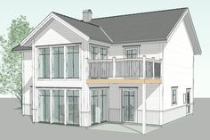 D186 Garage Apartments, Beach House Decor, Home Decor, Bellisima, Cottages, New England, Colonial, Buildings, House Ideas