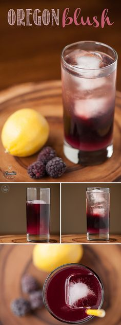 Oregon Blush is a delicious cocktail made from marionberry infused vodka with lemon juice, simple syrup, and champagne. Perfect for Valentine's Day or any time of year! View the full recipe i Vodka Recipes, Infused Water Recipes, Infused Vodka, Drinks Alcohol Recipes, Smoothie Recipes, Smoothies, Vodka Drinks, Cocktail Drinks, Fun Drinks
