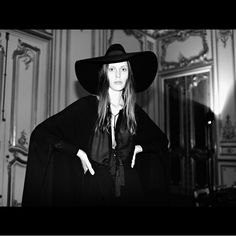 Chronicling the Making of Hedi Slimane's Debut Collection for Saint Laurent