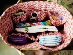 What to pack into your diaper bag from Newborn to 12 months.
