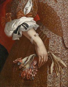 Carlo Ceresa (1609–1679) Bildnis einer reich gekleideten jungen Dame
