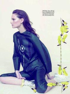 Harper's Bazaar UK V Issue May 2013   Sophie Hirschfelder   Elena Rendina