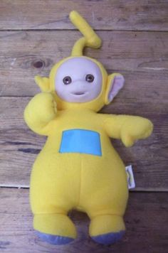 Laa Laa Teletubbies Set Of 4 Plush Dolls Featuring 8 Po Dipsy And Tinky W...