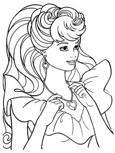 Barbie Coloring Pages, Colouring Pages, Coloring Books, Doodle Coloring, Coloring Pages For Kids, Kids Coloring, Paris Wallpaper, Human Drawing, Barbie World