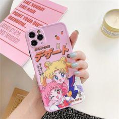 Sailor Moon iPhone Case  Pink Kawaii Japanese Anime | Etsy