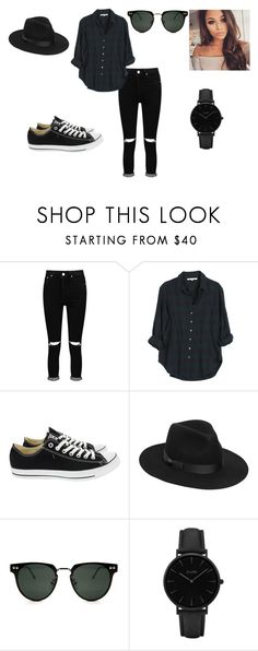 """""""Untitled #164"""" by minja16 on Polyvore featuring Boohoo, Xirena, Converse, Lack of Color, Spitfire and CLUSE"""