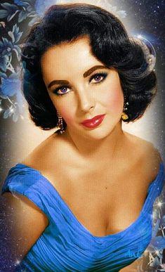 Golden Age Of Hollywood, Vintage Hollywood, Hollywood Glamour, Hollywood Stars, Classic Hollywood, Young Elizabeth Taylor, Elizabeth Taylor Cleopatra, Divas, Classic Actresses