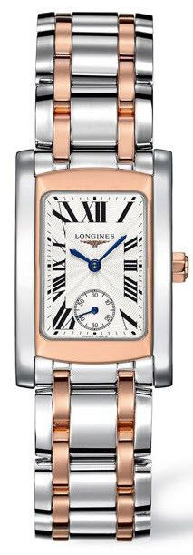 Longines Watch DolceVita Ladies #bezel-fixed #bracelet-strap-rose-gold #brand-longines #buckle-type-deployment #case-depth-8mm #case-material-pink-rose-gold #case-width-22-4-x-26-85mm #delivery-timescale-1-2-weeks #dial-colour-silver #gender-ladies #luxury #movement-quartz-battery #official-stockist-for-longines-watches #packaging-longines-watch-packaging #sku-lng-163 #subcat-dolcevita #supplier-model-no-l5-502-5-71-7 #warranty-longines-official-2-year-guarantee #water-resistant-30m