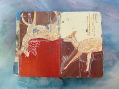 Missy Hammond Dunaway - From Book 3. Art journal / sketchbook inspiration.