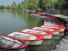 Lago del Parque Casa de Campo