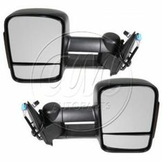 2003 - 2006 Chevy Silverado 2500 Power Heated Signal Telescoping Towing Mirror Pair