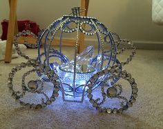 Cinderella Carriage Centerpiece By Kamiskraft On Etsy