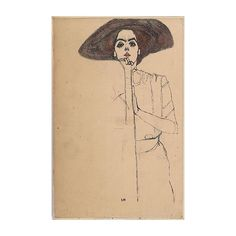 #EgonSchiele, Portrait of a Woman.  #arts #creative #artist #woman #creative #inspiration