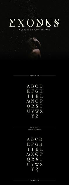 Exodus - Free Typeface on Behance (Free for personal use)