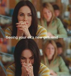 LOL pretty much. Or the girl the guy you like is with ;)