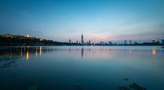 After Sunset at Xuanwu Lake