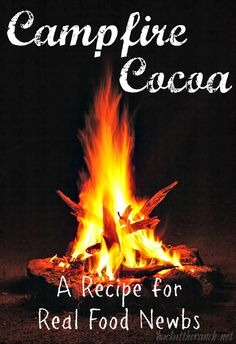 we life is good Real Food Recipes, Yummy Food, Yummy Recipes, Campfire Stories, Fall Nail Art Designs, Hot Cocoa Mixes, Healthy Lifestyle Tips, Healthy Alternatives, Outdoor Camping