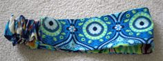 Reversible Headband AMY BUTLER Hark Fabric by QueenVictoriaCouture, $9.95 Crafty!
