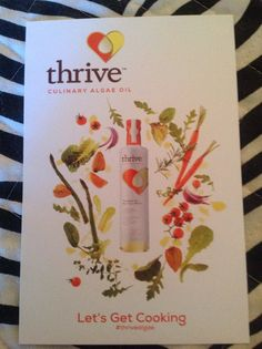 So excited to try Thrive Algae cooking oil! Got it free! @smiley360