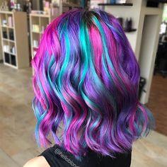 9443 Me gusta 37 comentarios Pulp Riot Hair Color (Pulp Riot Hair) en Instag Teal Hair, Hair Color Purple, Unicorn Hair Color, Mermaid Hair Colors, Lavender Colour, Lilac Hair, Pastel Hair, Green Hair, Bright Hair Colors