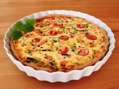 Salmon Recipes, Starters, Quiche, Feta, Food And Drink, Baking, Breakfast, Foods, Drinks