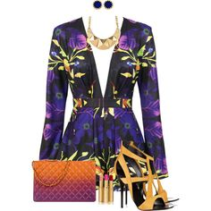 Sexy summer night, created by martina-hel on Polyvore