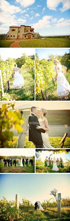 North Carolina Wedding Venue    Raffaldini Vineyards