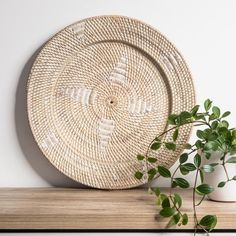 White Washed Rattan Wall Hanging – Little Additions Rattan, Wicker, Tribal Feather, Material Board, Kitchen Benches, Natural Texture, Natural Materials, Earthy, Weaving