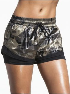 Division Double Layer Shorts camo