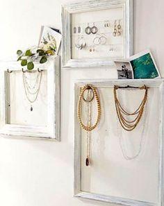 Zelf Maken | Sieraden vitrine, leuk om zelf te maken Door Deewtje