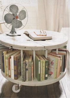 Looking for a round coffee table, on wheels would be amazing.
