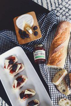 Brie + Berries + Sou