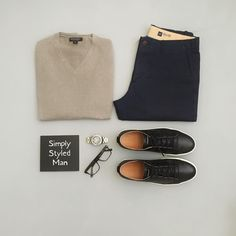 Visit www.simplystyledm... for articles, advice, and information on how to build a simple and stylish wardrobe. There, you will learn how to create your own unique style, tips on how to shop and save money, and resources for building a wardrobe that you love. #mensfashion