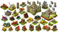 Game Assets Store - Isometric Art Assets for Indie devs