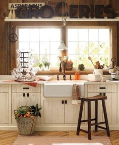 Pretty Fall Kitchen