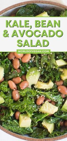 This sautéed kale salad is a delicious, healthy lunch and a delightful way to enjoy kale! We love making this sautéed kale with garlic and sesame to serve as a side, but it can easily be turned into a complete meal by adding protein-packed pinto beans, creamy avocado chunks, calcium-rich tahini, and served atop a filling bed of quinoa (or rice).