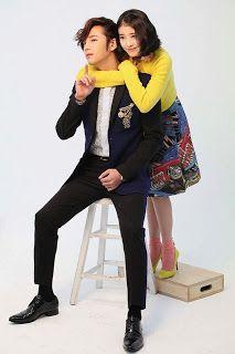 IU & Jang Geun Suk are adorable couple for 'Pretty Man' poster pictorial ~