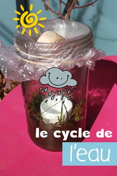 Water Cycle, Cycle 3, Baby Education, Science Education, Science For Kids, Activities For Kids, Science Experience, Grade 2 Science, Teaching French