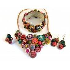 Spirálos ékszerszett 0201 Drop Earrings, Jewelry, Jewlery, Jewels, Jewerly, Jewelery, Chandelier Earrings, Accessories