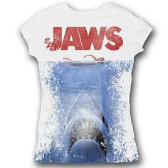 819379fb Jaws Jaws Sublimation T-Shirt Liz White, Shark Week, Dressed To Kill,