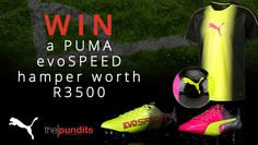PUMA were generous enough to put together an awesome PUMA Tricks hamper for us, valued at R3 500... click here to enter... Hamper, Competition, Awesome, Basket