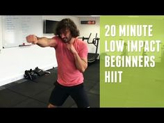 16 Minute Low Impact Fat Burning HIIT Workout   The Body Coach - YouTube