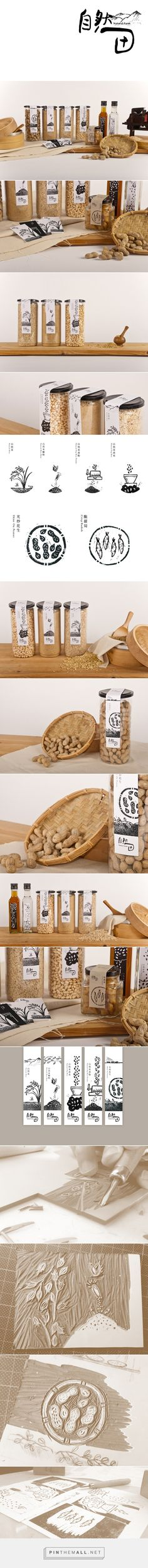Natural Farm on Behance how gorgeous is this packaging by I-Chen Huang curated by Packaging Diva PD