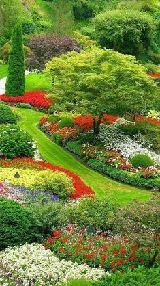 Butchart Gardens - Canadá  #LandscapingGarden