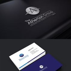 Design a professional classic logo for The Atherton Group by creativepencil