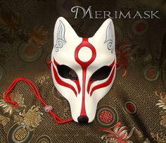 Leather Mask MADE TO ORDER Okami Wolf Mask. Cargo Jacket Mens, Grey Bomber Jacket, Green Cargo Jacket, Burning Man, Japanese Fox Mask, Japanese Wolf, Largest Wolf, Great Mens Fashion, Men's Fashion
